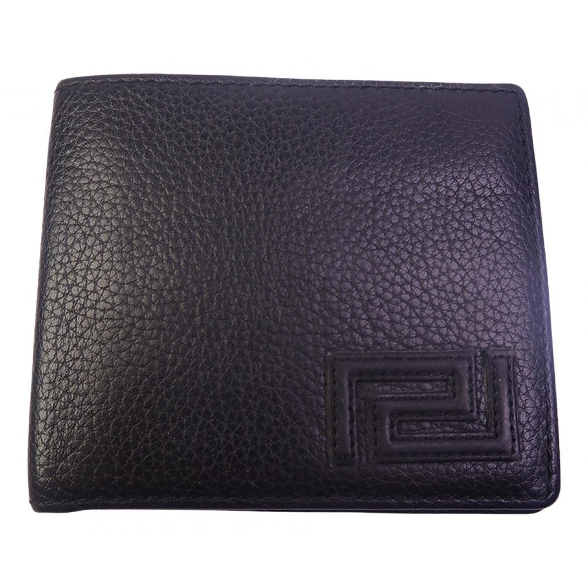 Versace N Black Leather wallet for Women N