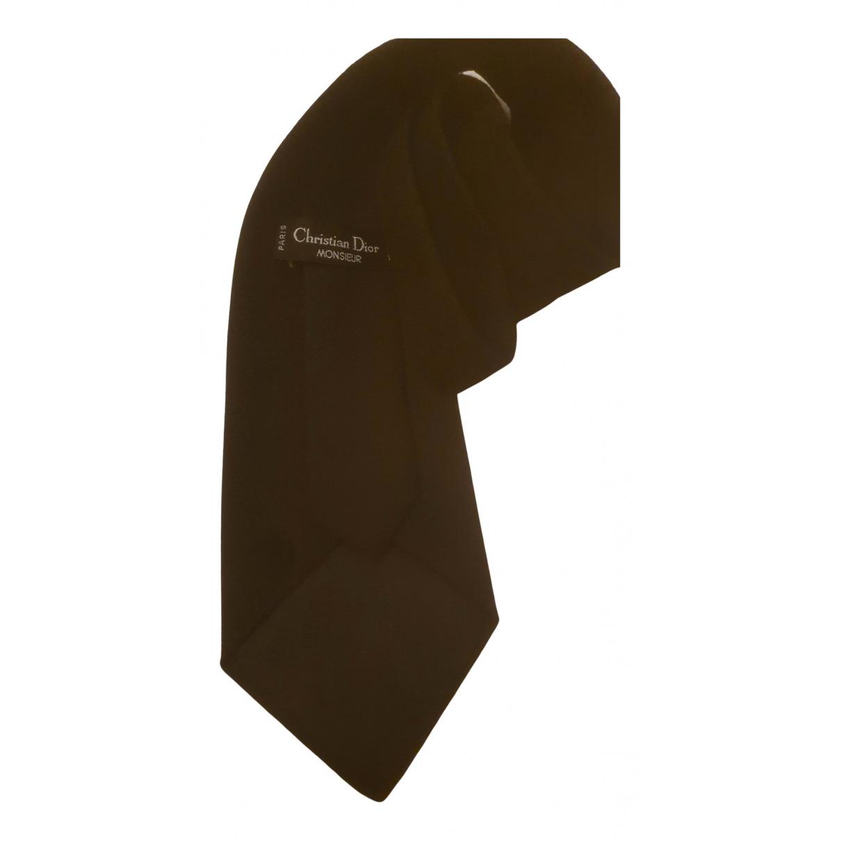 Dior Homme N Black Cashmere Ties for Men N