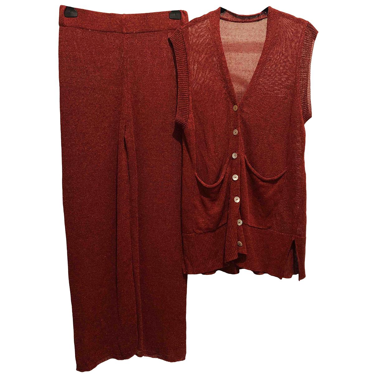 Zara \N Jacke in  Rot Synthetik
