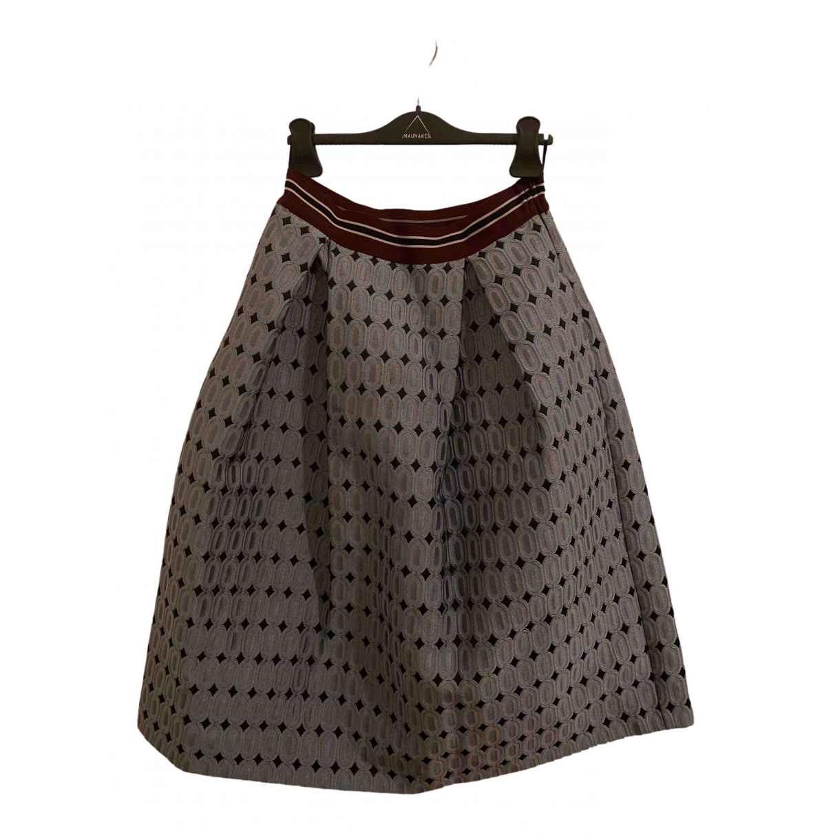 Pinko - Jupe   pour femme en coton - multicolore