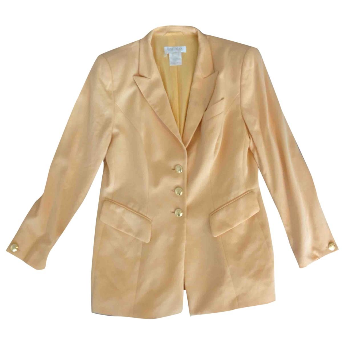 Escada \N Yellow Wool jacket for Women 42 FR
