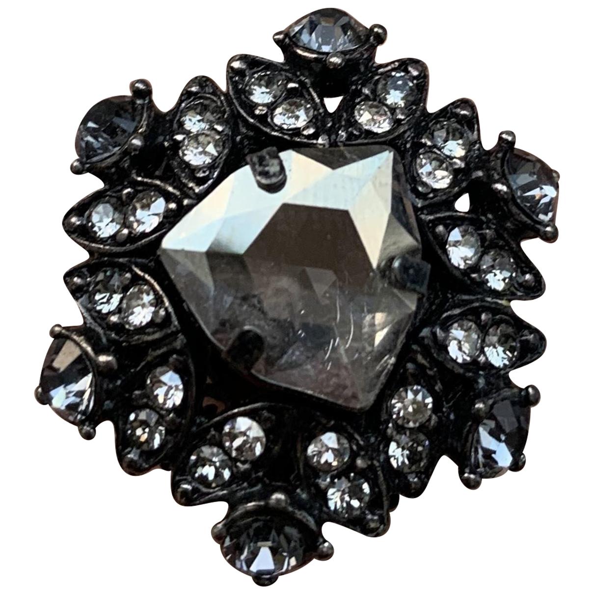 Lanvin - Bague   pour femme en cristal - metallise