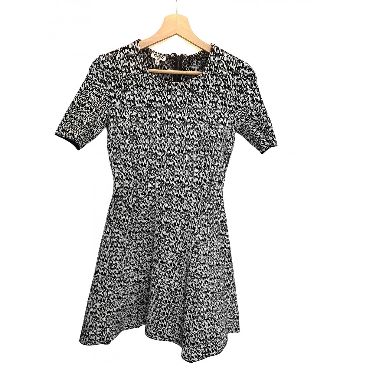 Kenzo \N Black Cotton - elasthane dress for Women S International