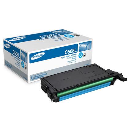 Samsung CLT-C508L cartouche de toner originale cyan haute capacité