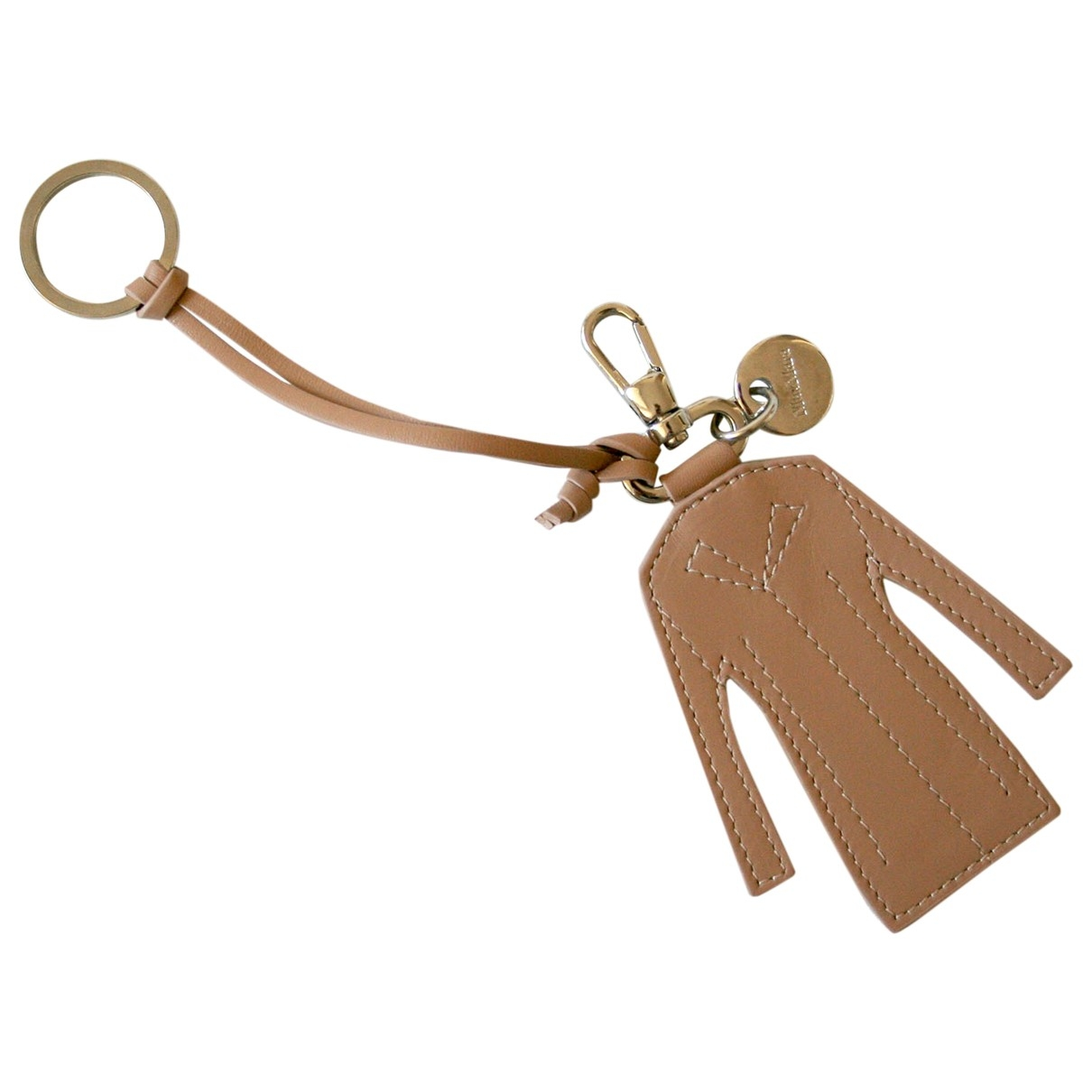 Max Mara - Bijoux de sac   pour femme en cuir - camel