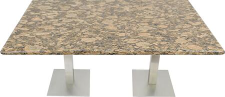 G217 24X30-SS05-17D 24x30 Giallo Fiorito Granite Tabletop with 17