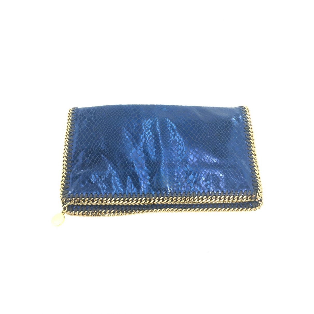 Stella Mccartney Falabella Clutch in  Metallic Synthetik