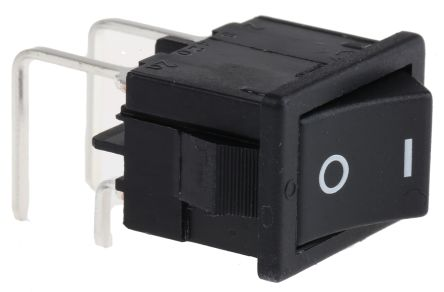Marquardt Double Pole Single Throw (DPST), On-None-Off Rocker Switch PCB