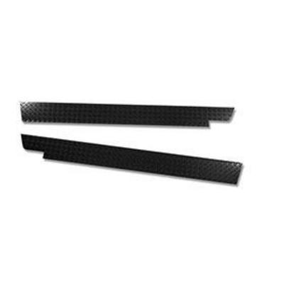 Warrior Rocker Panel Sideplates (Black Steel) - S906