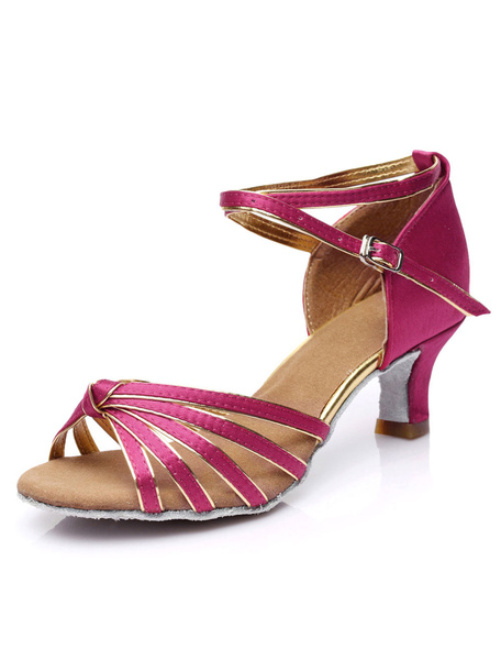 Milanoo Zapatos De Fiesta Satinados Azules Para Mujeres