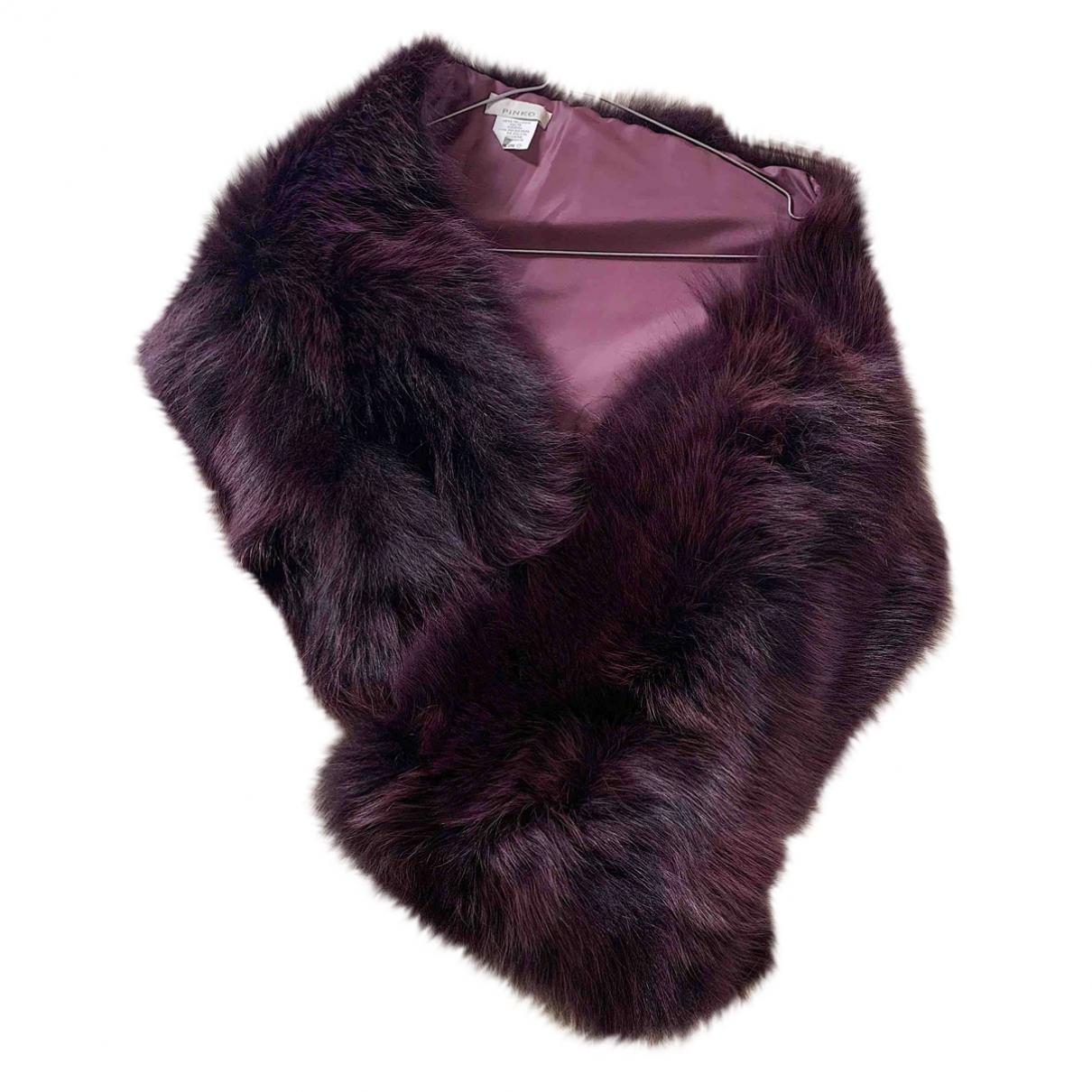 Pinko \N Purple Fox scarf for Women \N