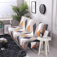 Sofabezug mit Farbblock Muster