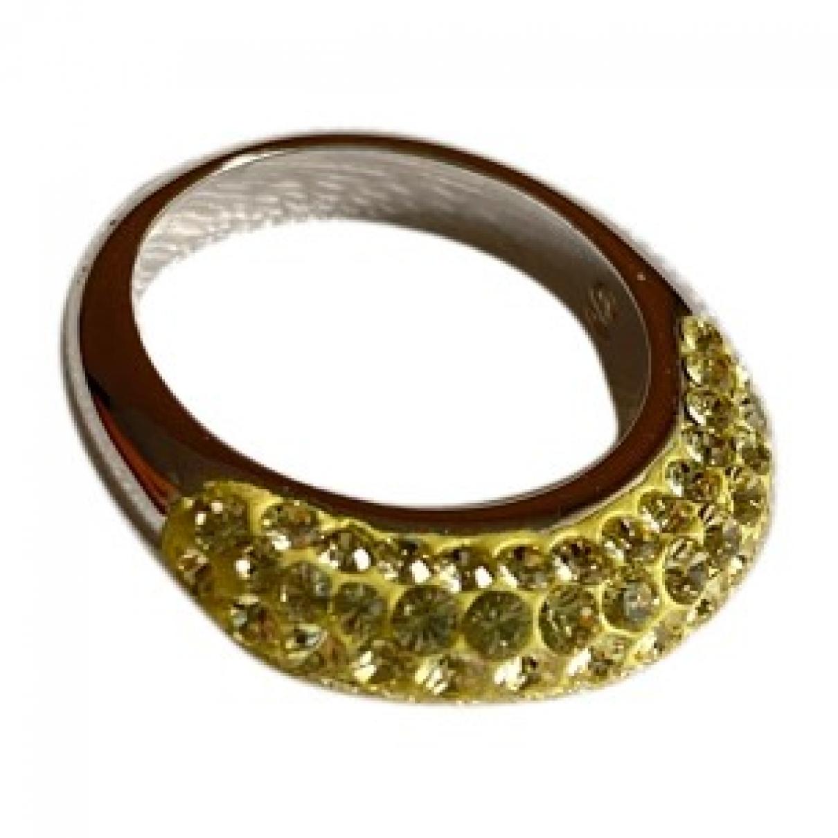 Swarovski - Bague   pour femme en metal - dore