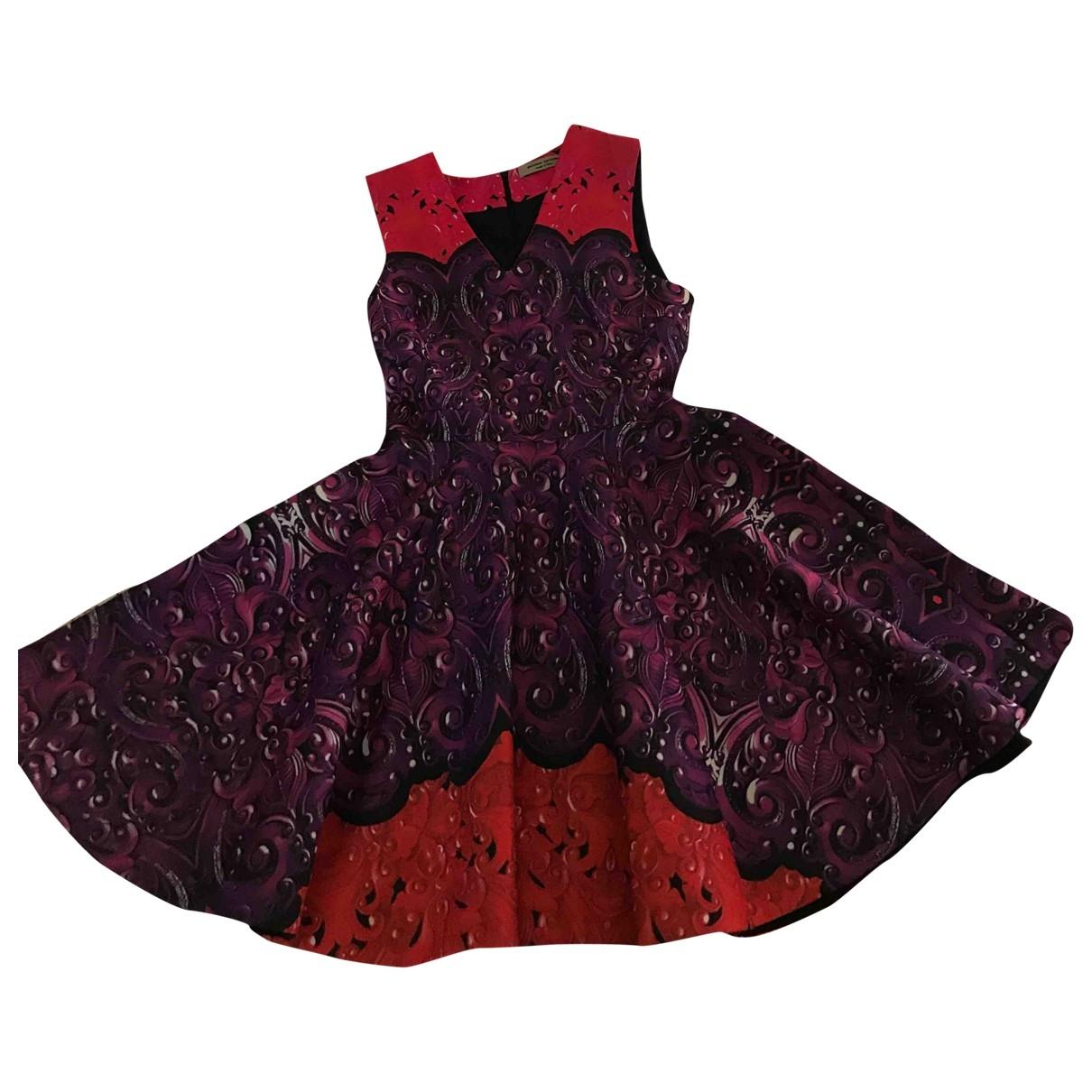Piccione.piccione \N Kleid in  Lila Polyester