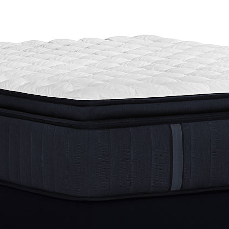 Stearns and Foster Hurston Firm EPT - Mattress + Box Spring, One Size , White