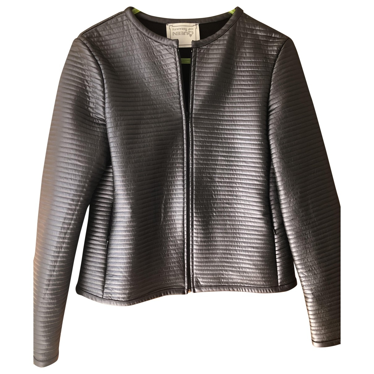 Non Signé / Unsigned \N Grey jacket for Women 2 0-5
