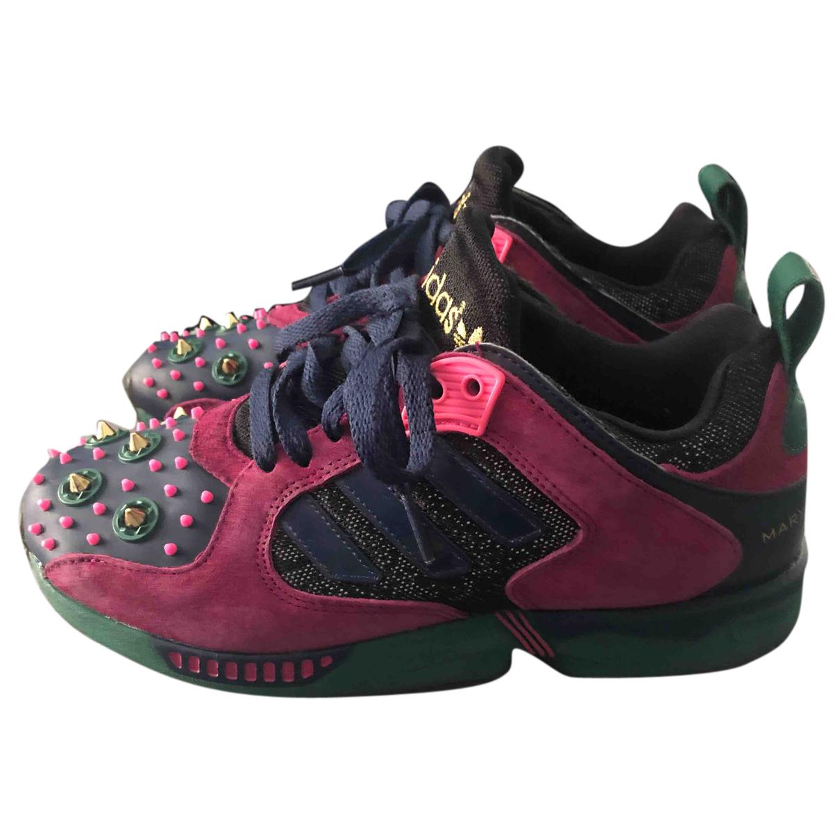 Mary Katrantzou For Adidas \N Sneakers in  Bunt Veloursleder