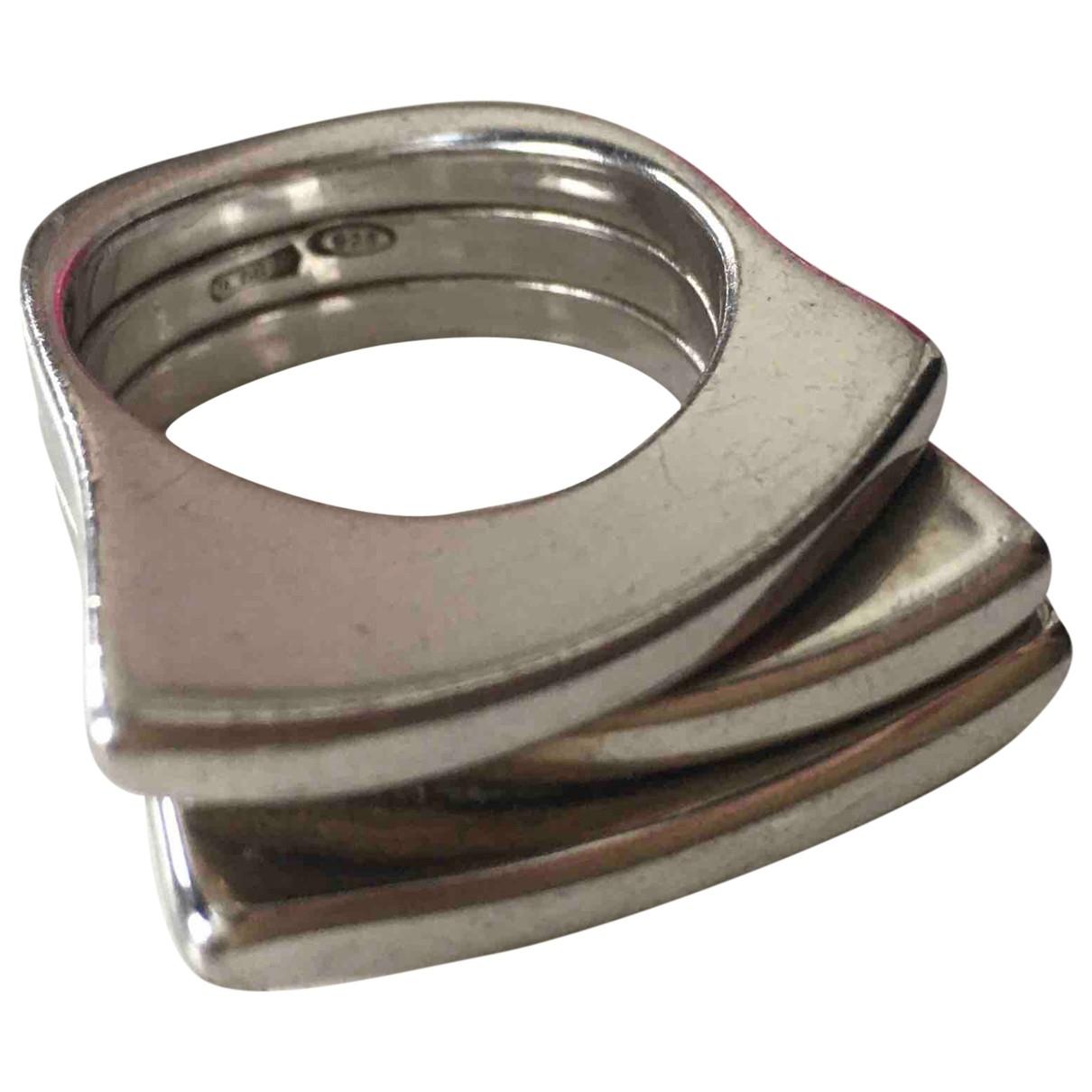 Pianegonda \N Ring in  Silber Silber