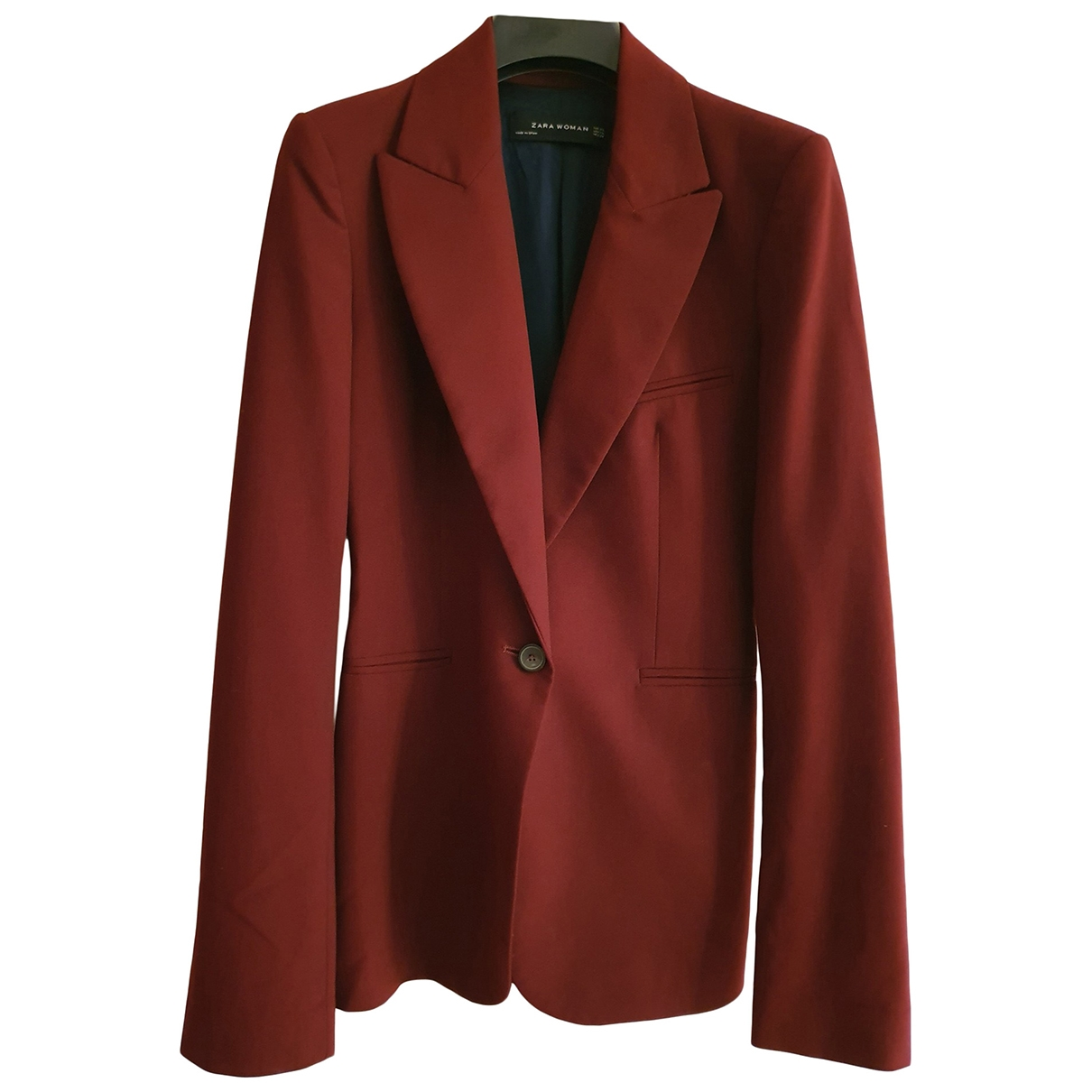 Zara \N Burgundy jacket for Women XS International