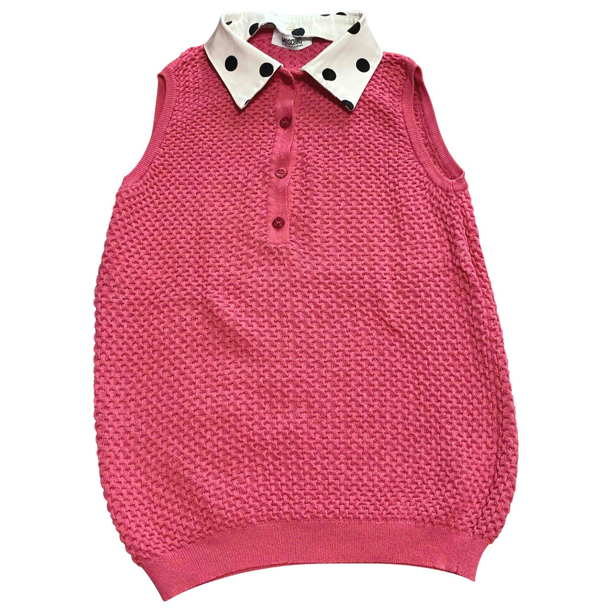 Moschino Cheap And Chic - Top   pour femme en eponge - rose