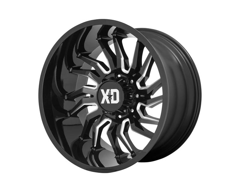 XD Series XD85822080318N XD858 Tension Wheel 22x10 8x165.1 -18 Gloss Black Milled