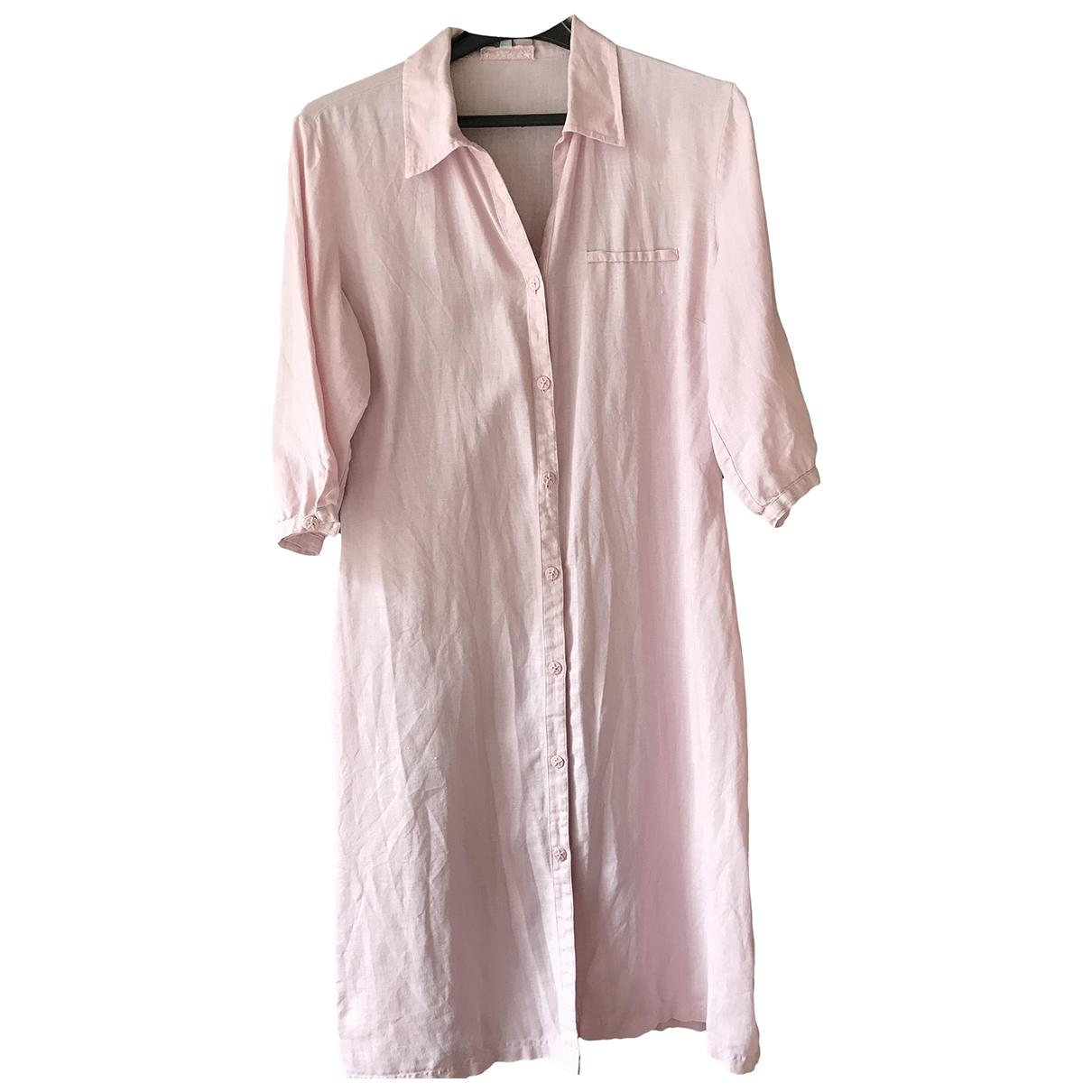 Sud Express \N Kleid in  Rosa Leinen