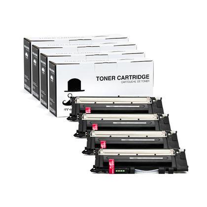 Compatible Samsung CLT-K406S Black Toner Cartridge - Moustache - 4/Pack