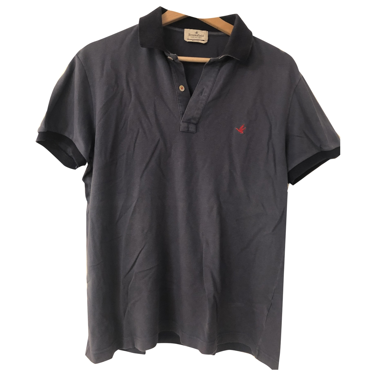 Brooksfield \N Poloshirts in  Blau Baumwolle