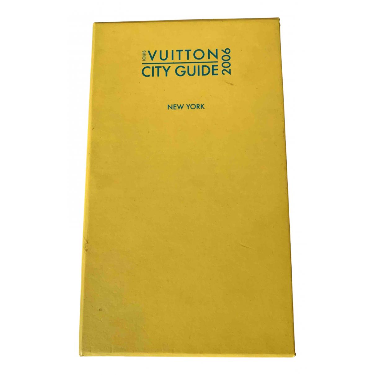 Louis Vuitton City Guide Reisen in  Gelb Baumwolle