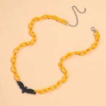 Halloween Halskette mit Fledermaus Dekor
