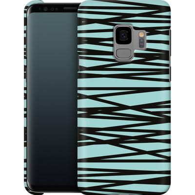 Samsung Galaxy S9 Smartphone Huelle - Rendezvous Stripe von Khristian Howell