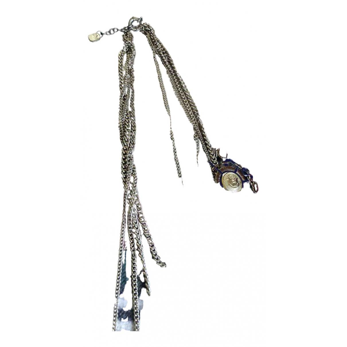 Uterque - Collier   pour femme en metal - argente