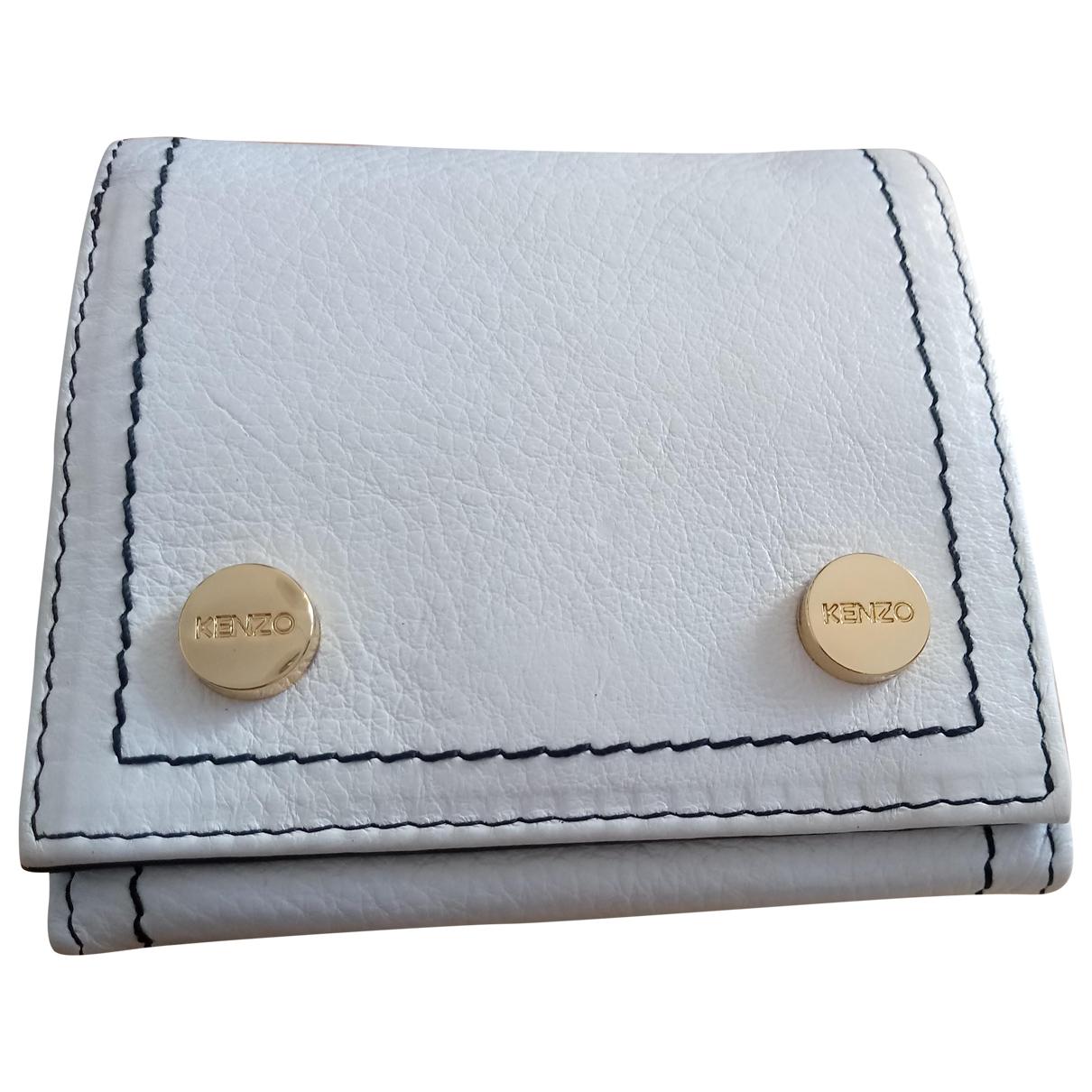 Kenzo \N White Leather wallet for Women \N