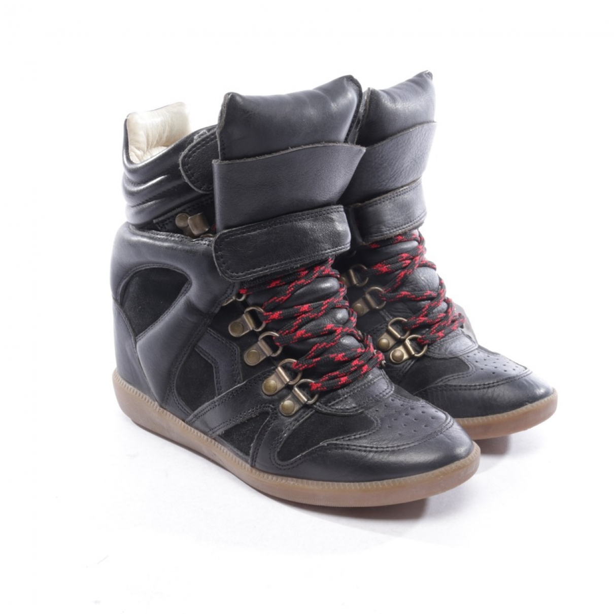 Isabel Marant Etoile \N Black Leather Trainers for Women 36 EU