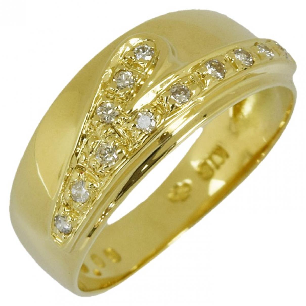 - Bague   pour femme en plaque or