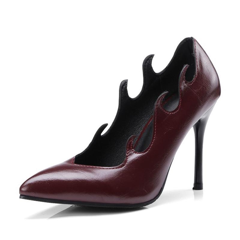 Ericdress Stiletto Heel Thread Slip-On High Heel (5-8cm) Thin Shoes
