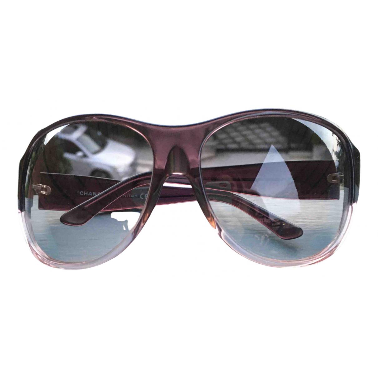 Chanel \N Purple Sunglasses for Women \N