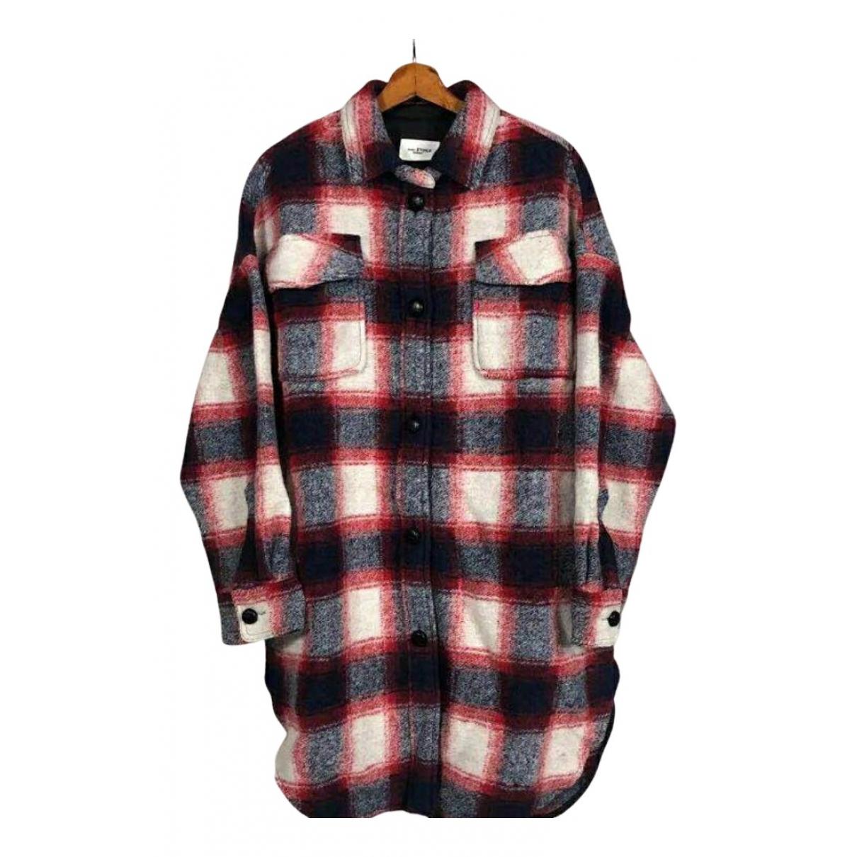 Isabel Marant Etoile N Red Wool coat for Women 2 0-5