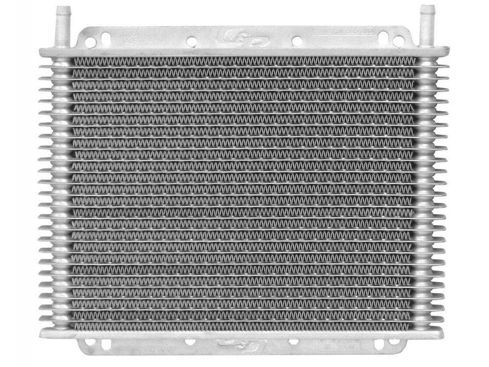 Trans Oil Cooler Kit 11 in (280mm) x 7-7/8 in (200mm) x 3/4 in (19mm) 3/8 in Push On Barb