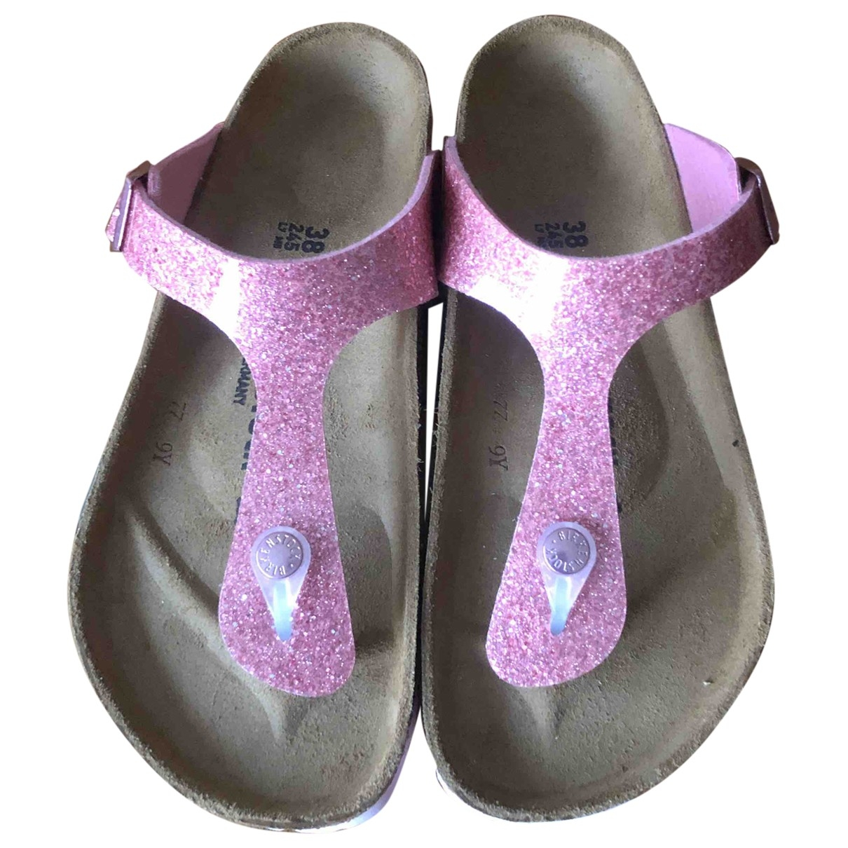 Sandalias de Cuero Birkenstock