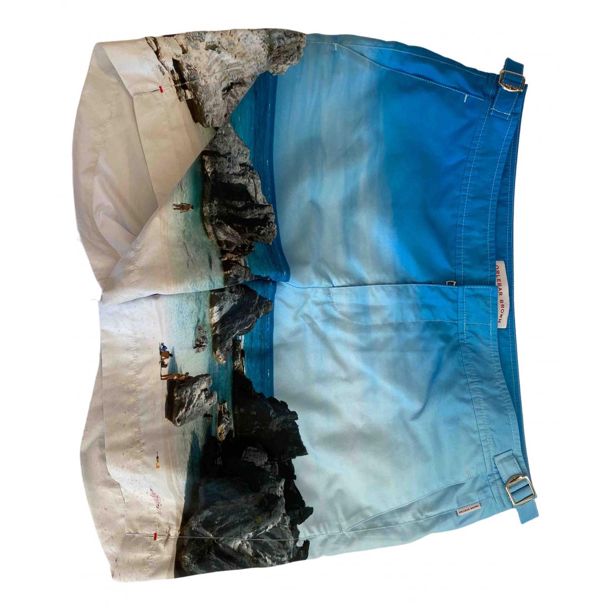 Orlebar Brown \N Blue Swimwear for Men 32 UK - US