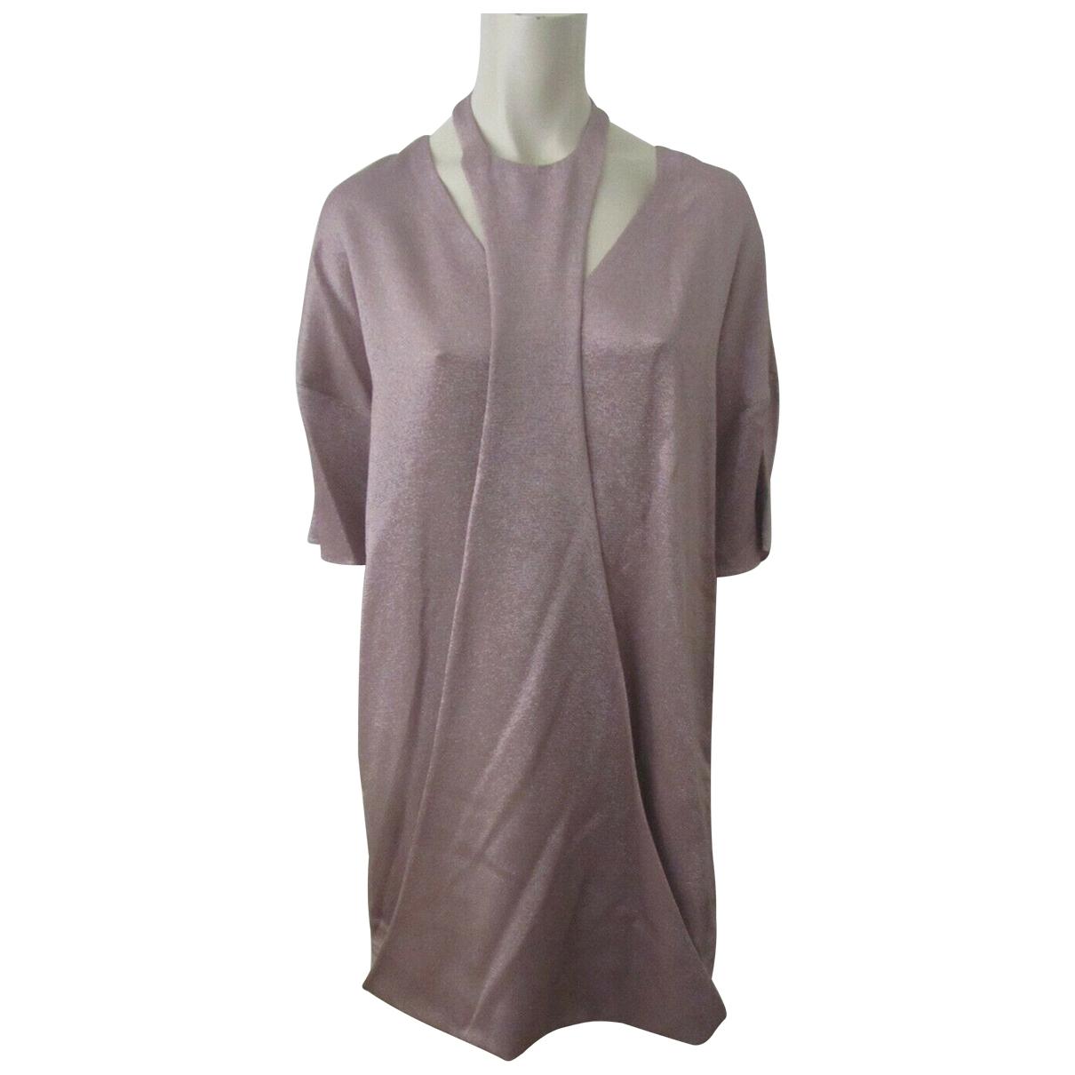 Valentino Garavani \N Pink dress for Women 40 IT