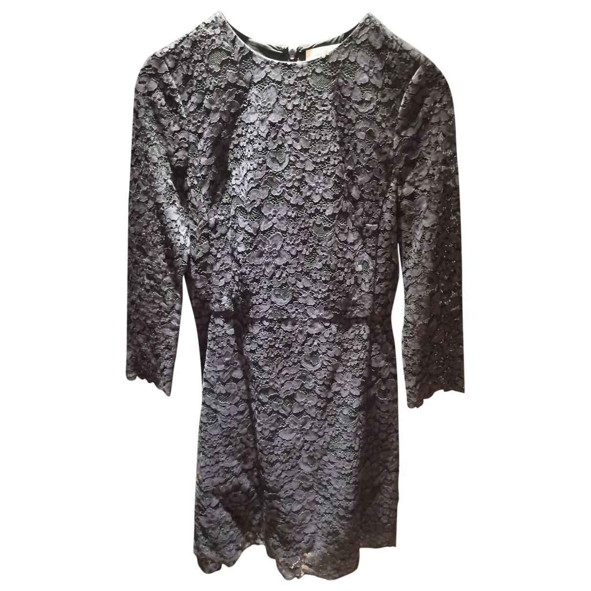 Tory Burch - Robe   pour femme en coton - marine