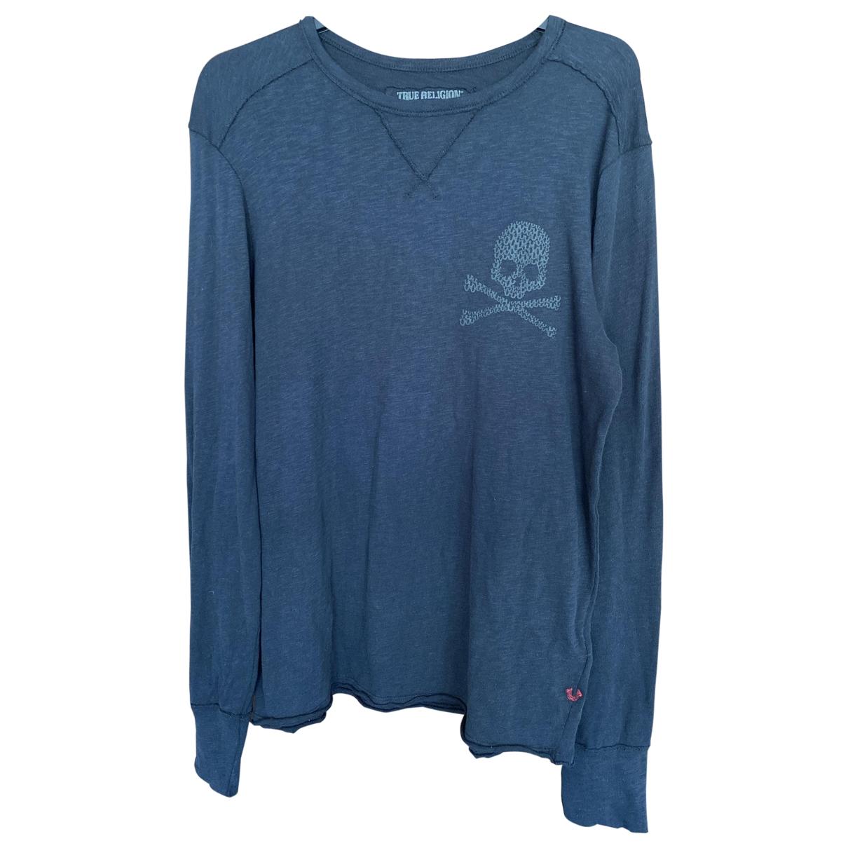 True Religion \N Pullover.Westen.Sweatshirts  in  Schwarz Baumwolle