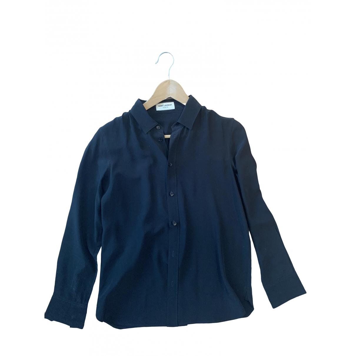 Camisa de Seda Saint Laurent