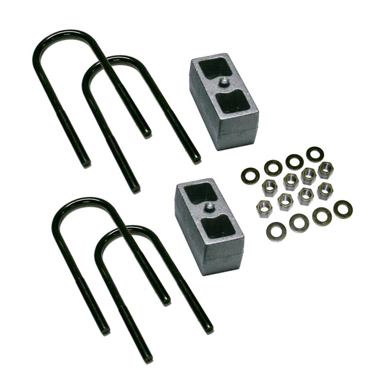 Superlift 9297 2.5 Rear Block Kit-99-10 F250/F350 w 3 7/8 Axle Tube w/o Top Mounted Overloads Ford F-250 1999