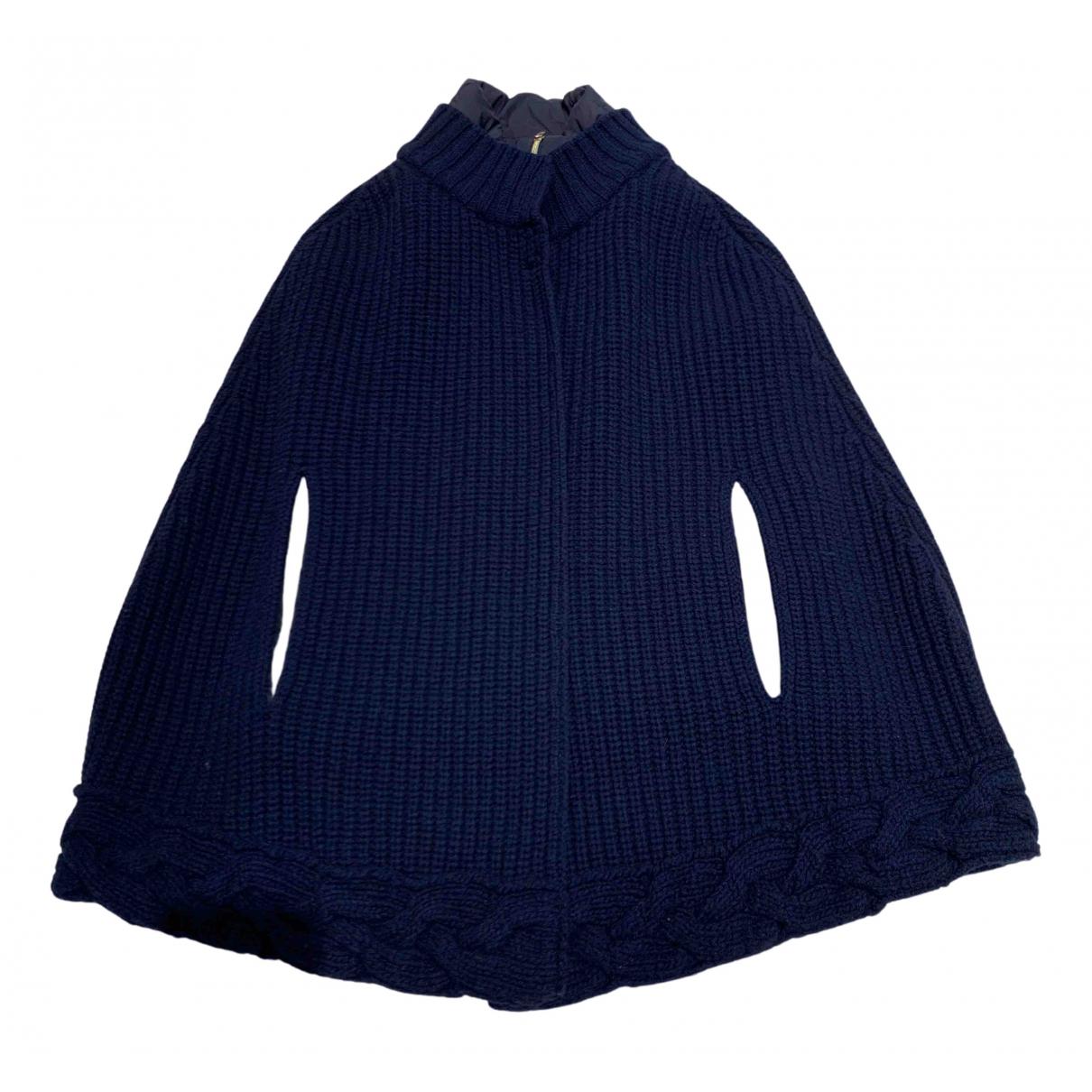 Herno - Manteau   pour femme en laine - bleu