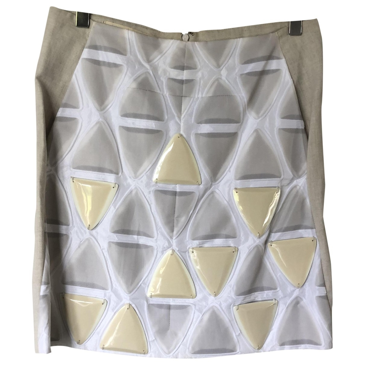 Marni \N Beige skirt for Women 40 IT