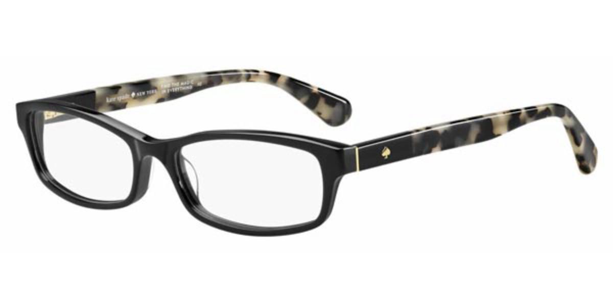 Kate Spade Jacey WR7 Women's Glasses Black Size 50 - Free Lenses - HSA/FSA Insurance - Blue Light Block Available