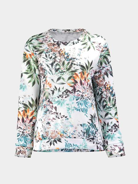 Yoins Sweatshirt in Floral Print